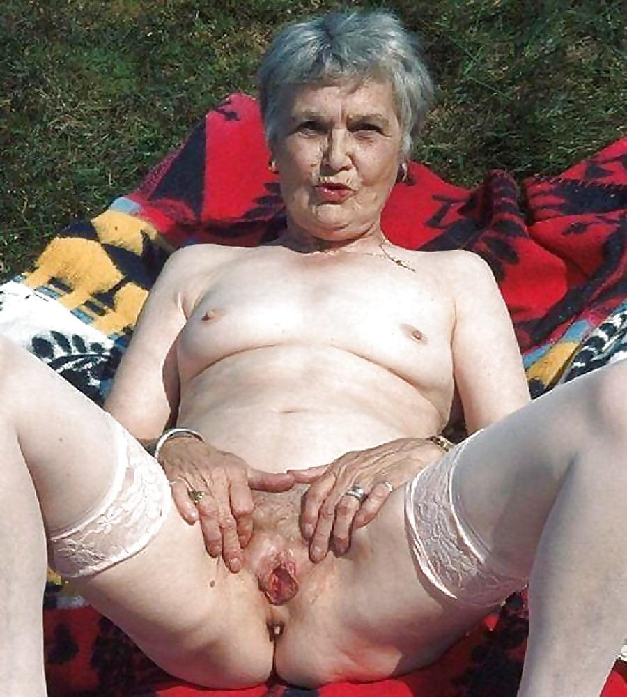 Старуха порно фото старых бабушек